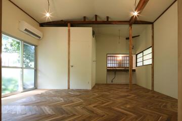 既存部分をどう残して、どう見せるか?築年数不詳の木造平屋