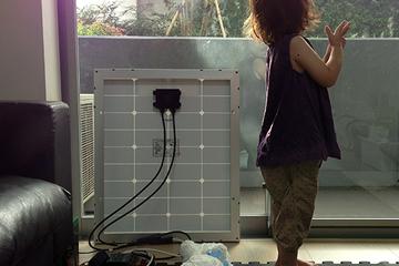 電気を自給自足してみた!ミニ太陽光発電システムから始める、小さな暮らし