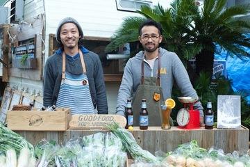 旅する野菜の伝道師「青果ミコト屋」。若者にオーガニックな野菜を届けるために、僕らは八百屋になった。