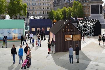 """ジャスパー・モリソンがデザインしたらこうなった!""""自分が住みたい家""""を考える「タイニーハウス展覧会」がロンドンで開催"""