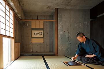 3畳の茶室で味わう非日常。茶道歴20年の設計士の家