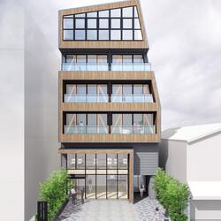 「木造商業ビル」の第一号案件