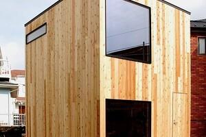 人同士の繋がり、街のコミュニティをつくるきっかけになる小屋「スケルトンハット」(エンジョイワークスの小屋)