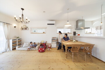 「自然素材」にこだわった家を建てたい!無垢、漆喰、珪藻土…6つのヒント