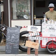 震災から武道大学、そして移動式自転車屋台を開業『Spa...