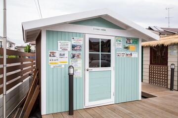 簡単キットで実現できる、本格的な小屋「パネルハウス」(北都物産の小屋)