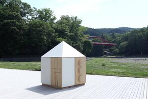 大人も子どもも、遊び心をくすぐられる。1坪に置ける小屋「ひとつぼキャビン」(サカモトの小屋)