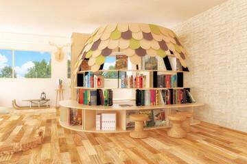 """小屋を置いちゃおう!""""好きに暮らす""""ひとつのアイデアとしての「家の中の小屋」"""