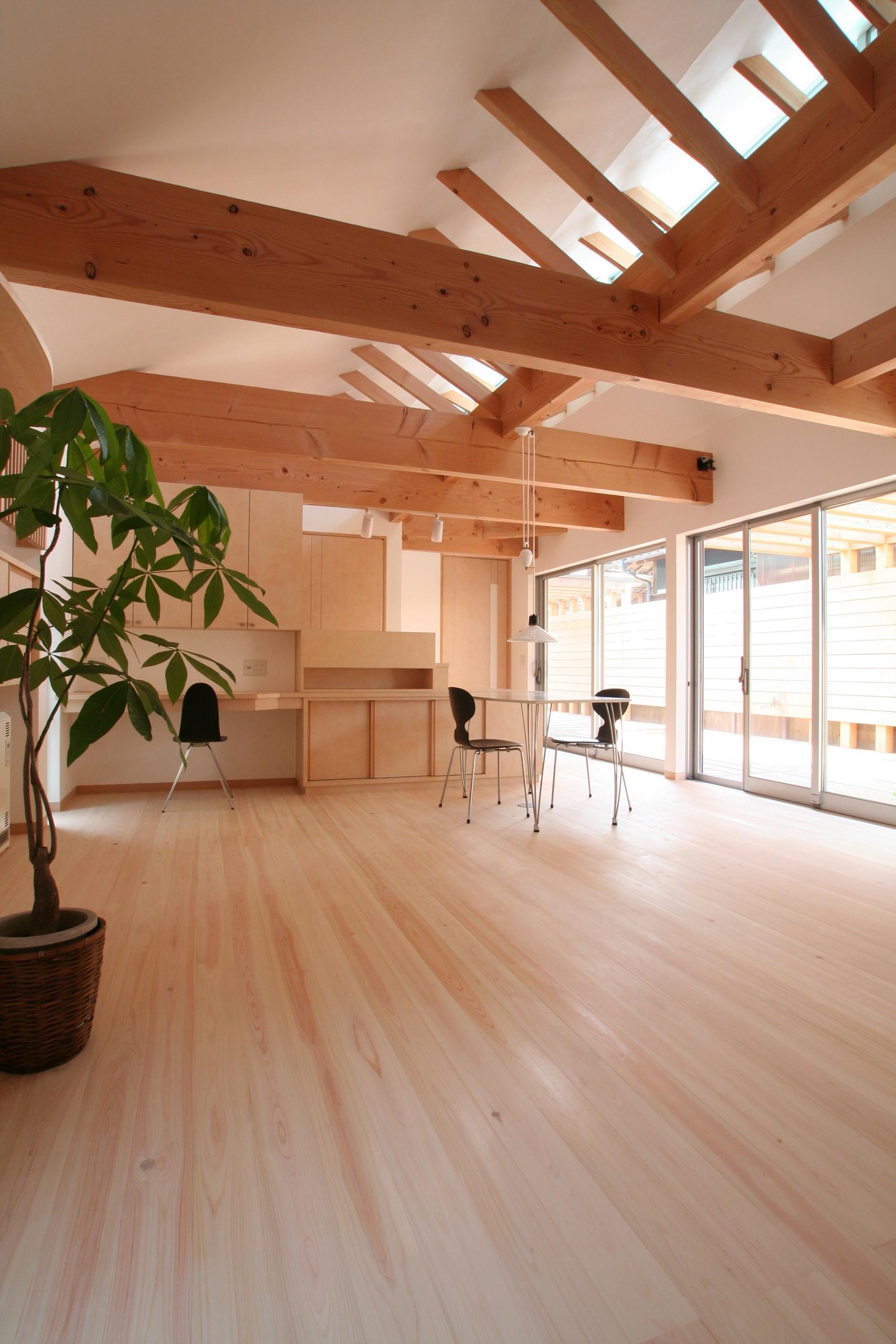 十八間堂(車椅子身障者のための平屋住宅)の建築事例写真
