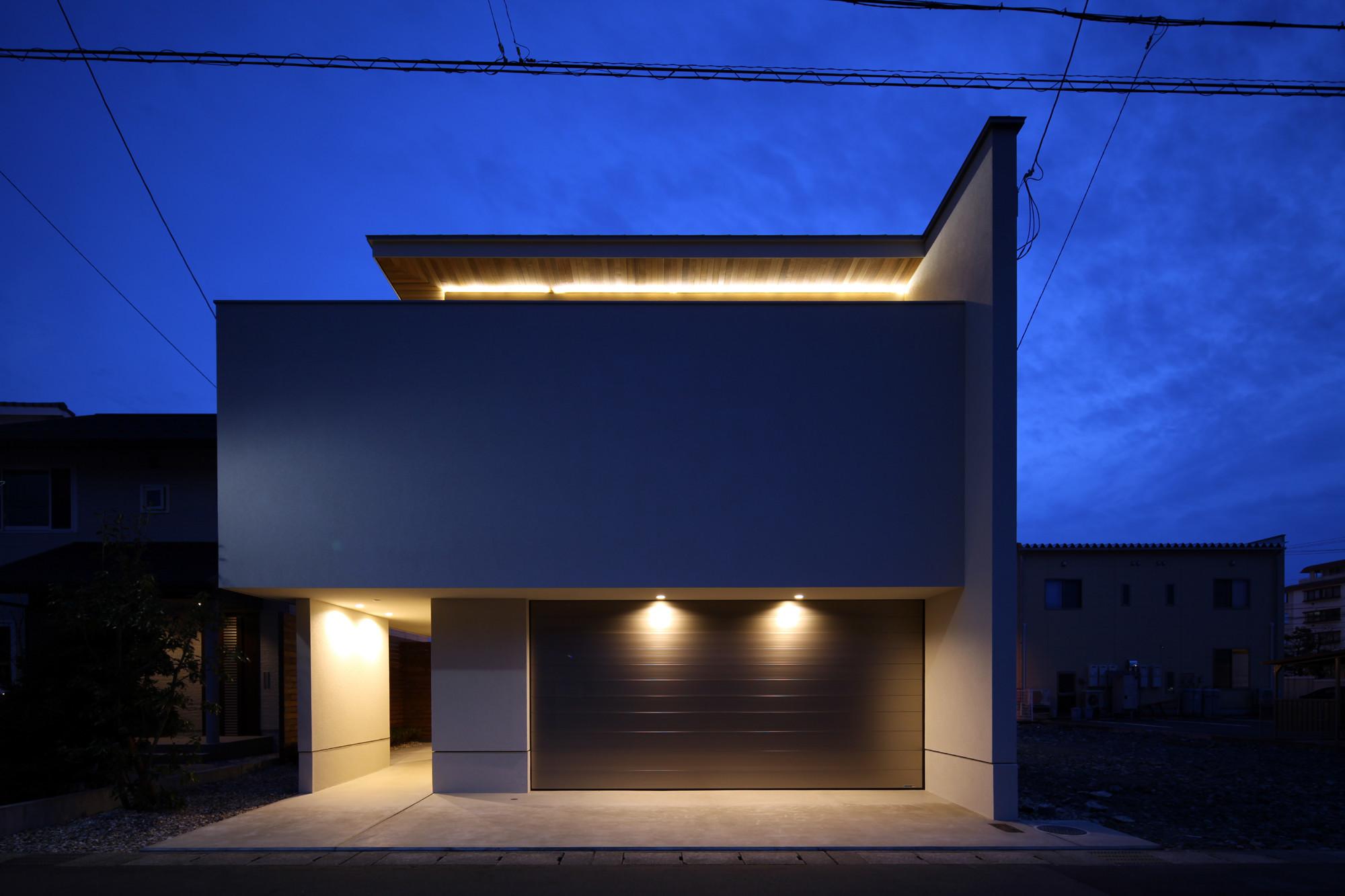 印象的な品のある照明計画としました。 | 囲台の家(うてなのいえ)