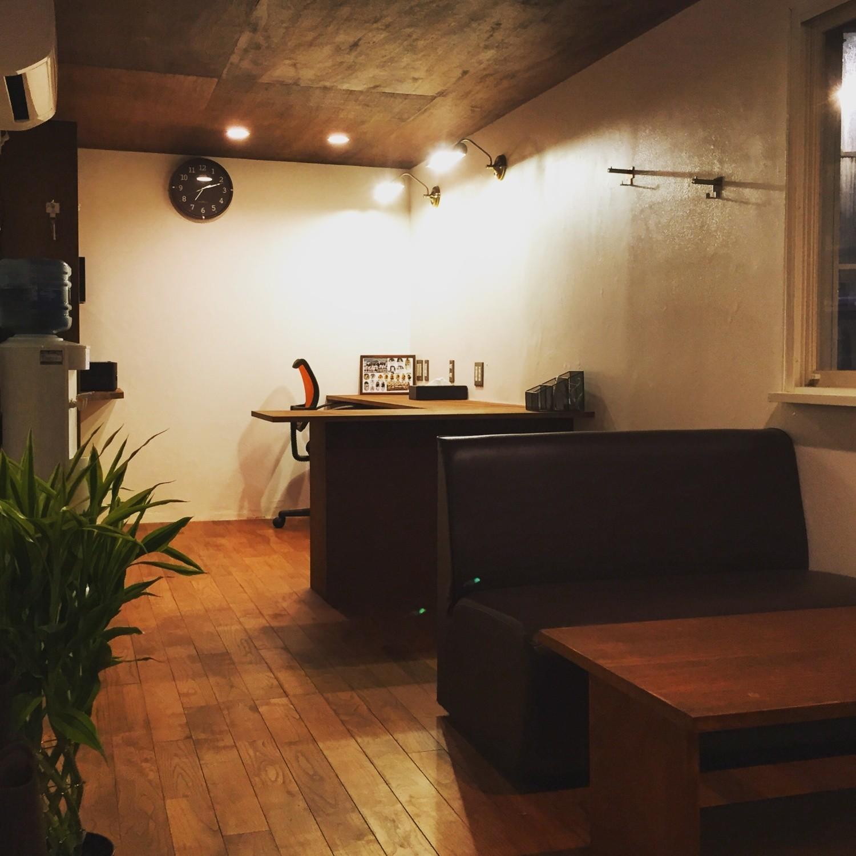 コンテナハウスの事務所の建築事例写真