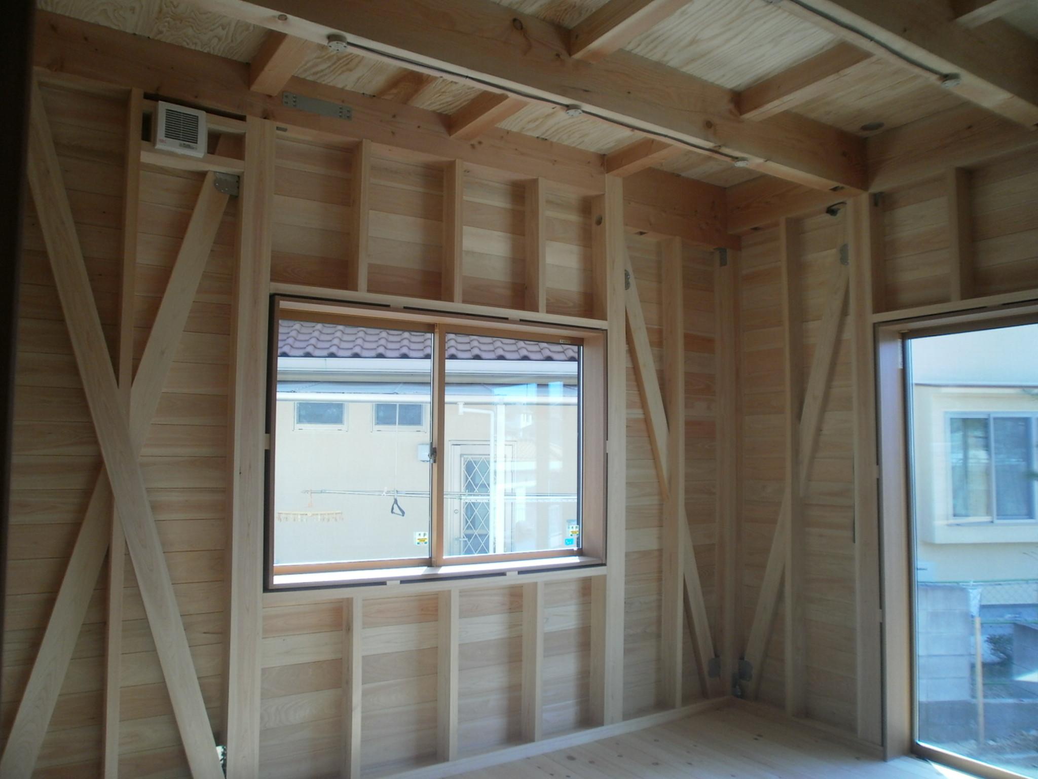 構造表しの家の建築事例写真