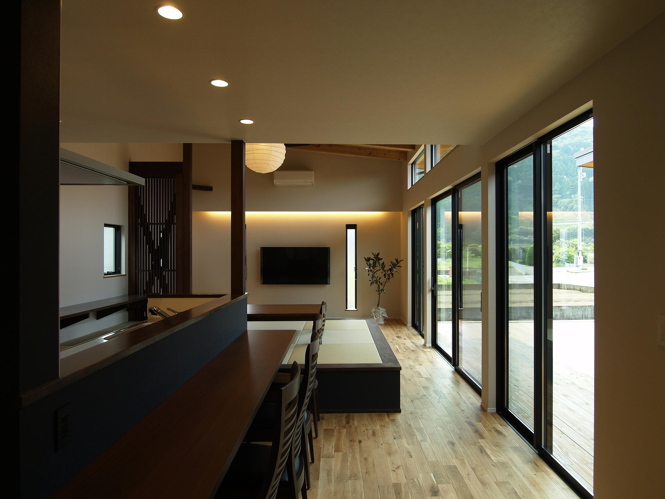 庵川の家の建築事例写真