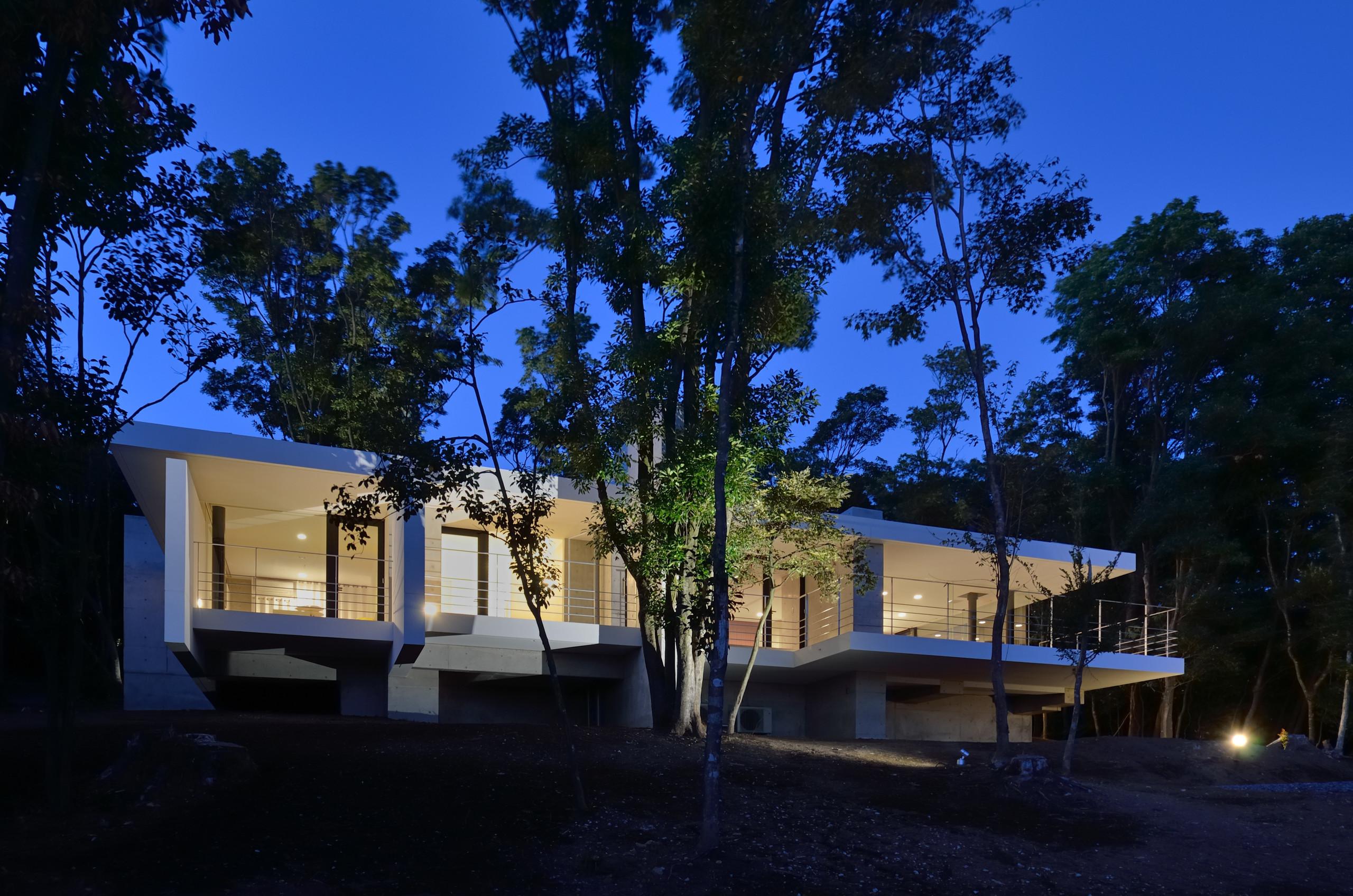 霧島の別荘の建築事例写真