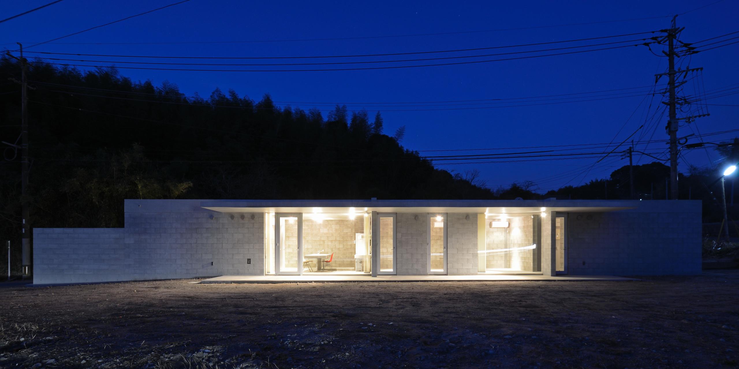 飯牟礼の住宅の建築事例写真