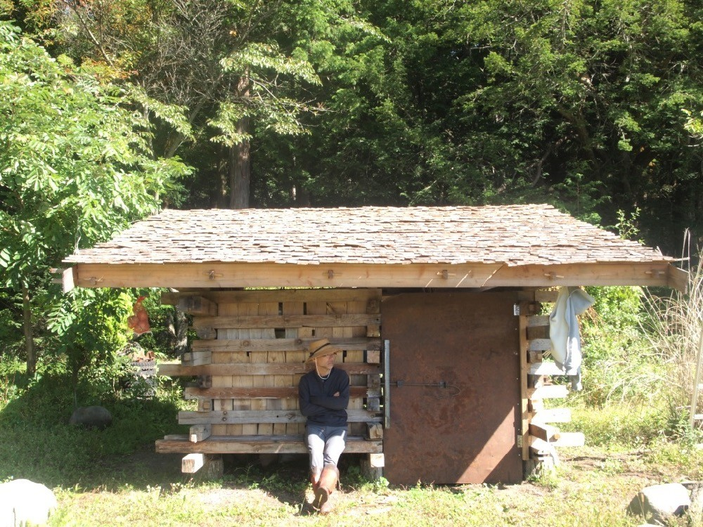 畑の小屋の建築事例写真
