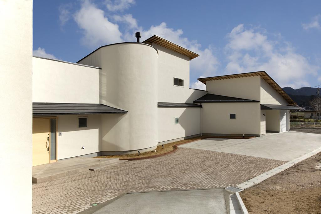 ガレージのある家(島根県)の建築事例写真