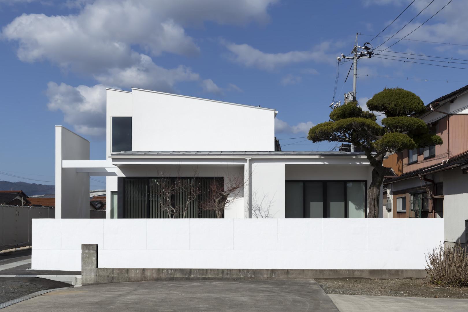 ガレージハウス(鳥取県境港市)の建築事例写真