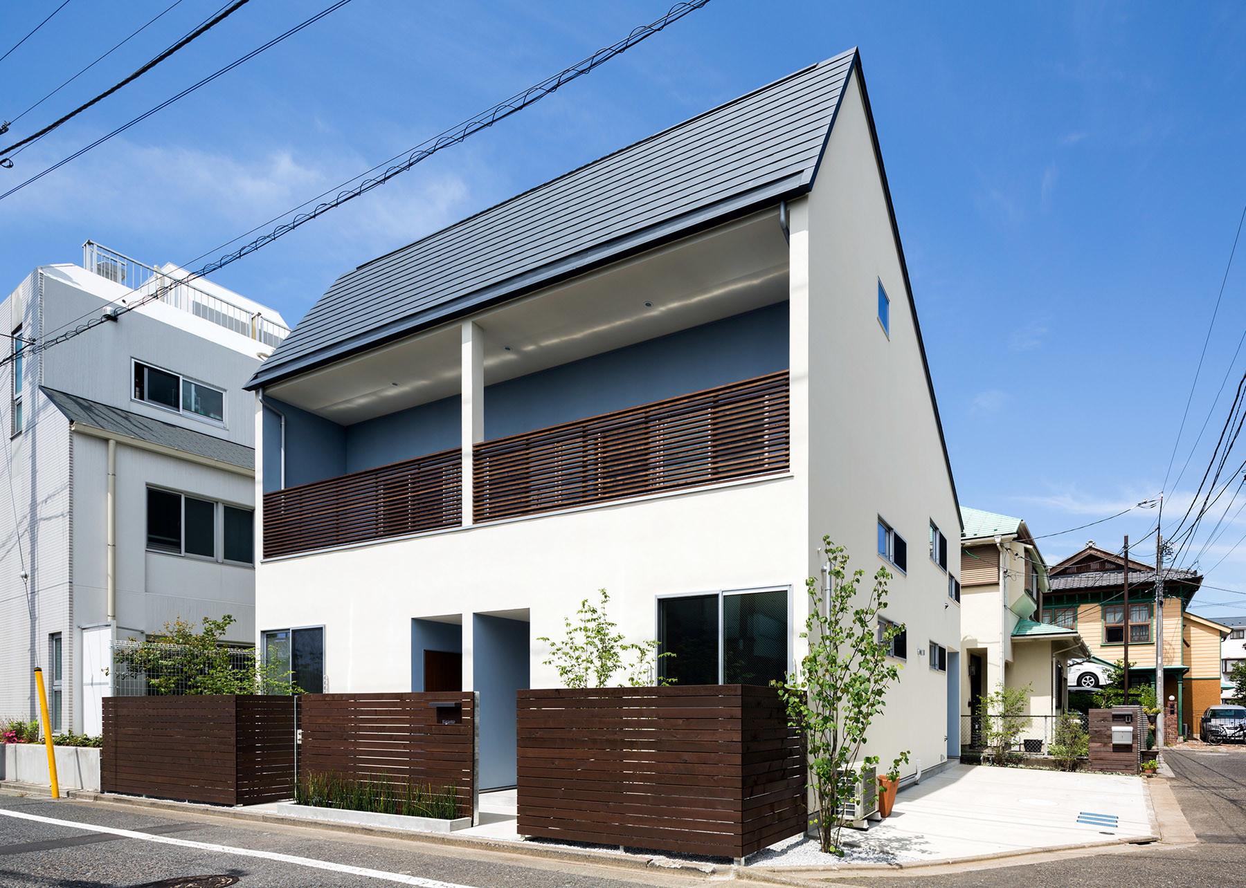 賃貸併用住宅『Riganto』の建築事例写真