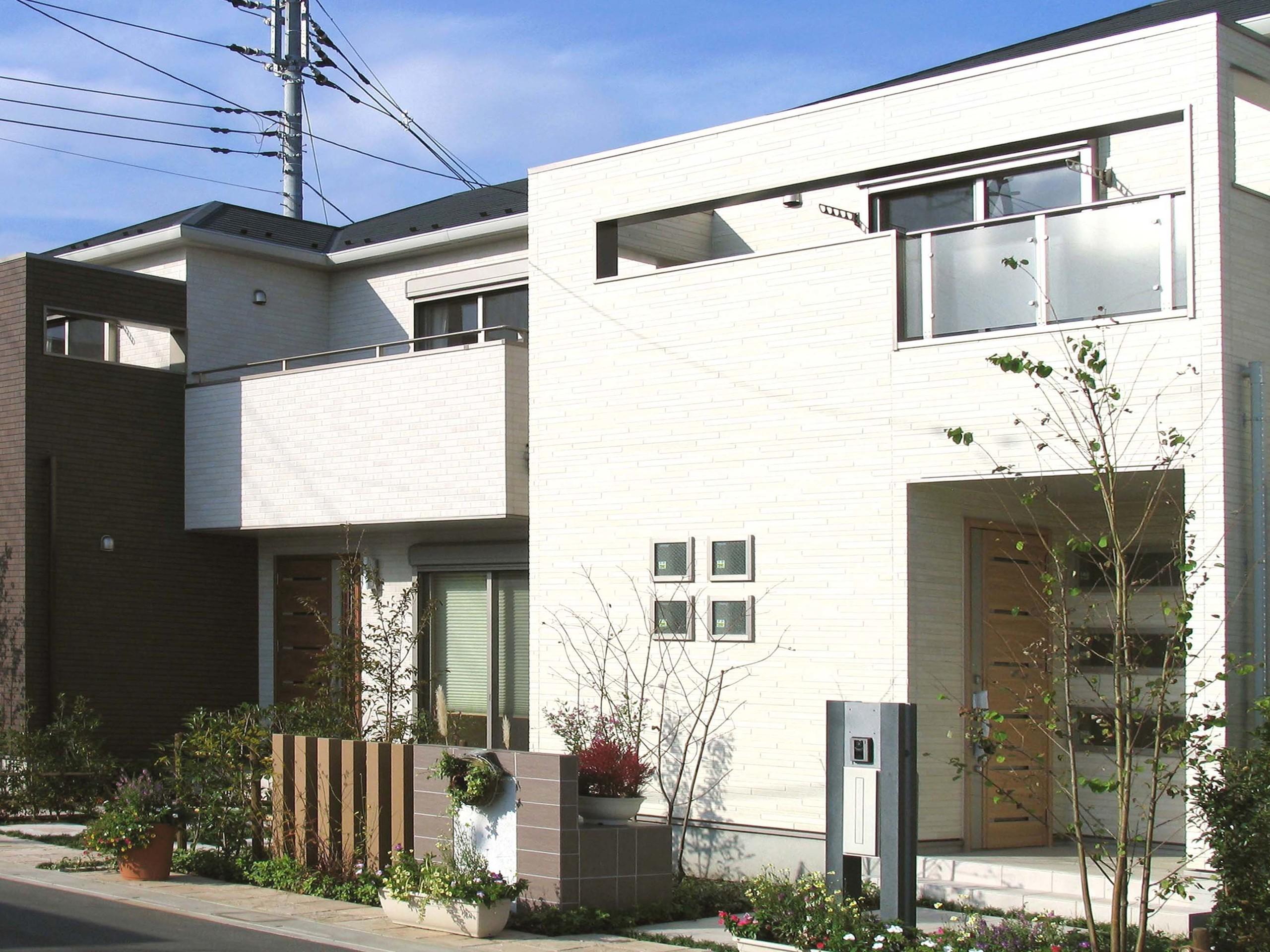 「子育て×永住」住宅(若い世代とシニアのコンパクト住宅)の建築事例写真