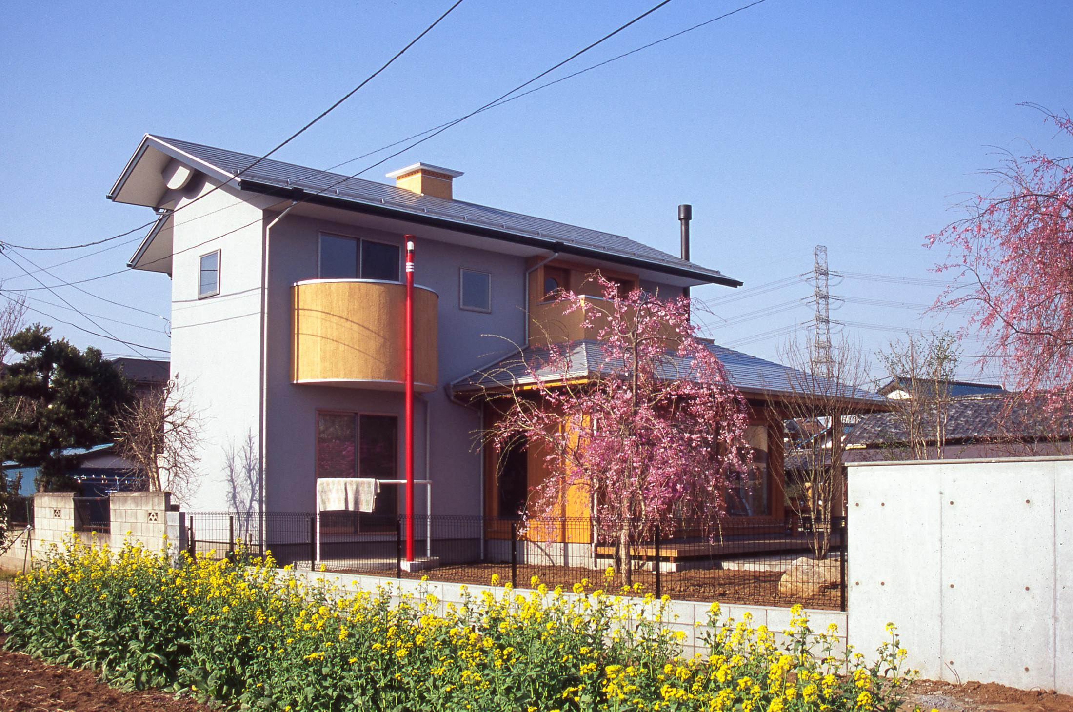 母屋のある敷地 新世代の新しい暮らしの建築事例写真