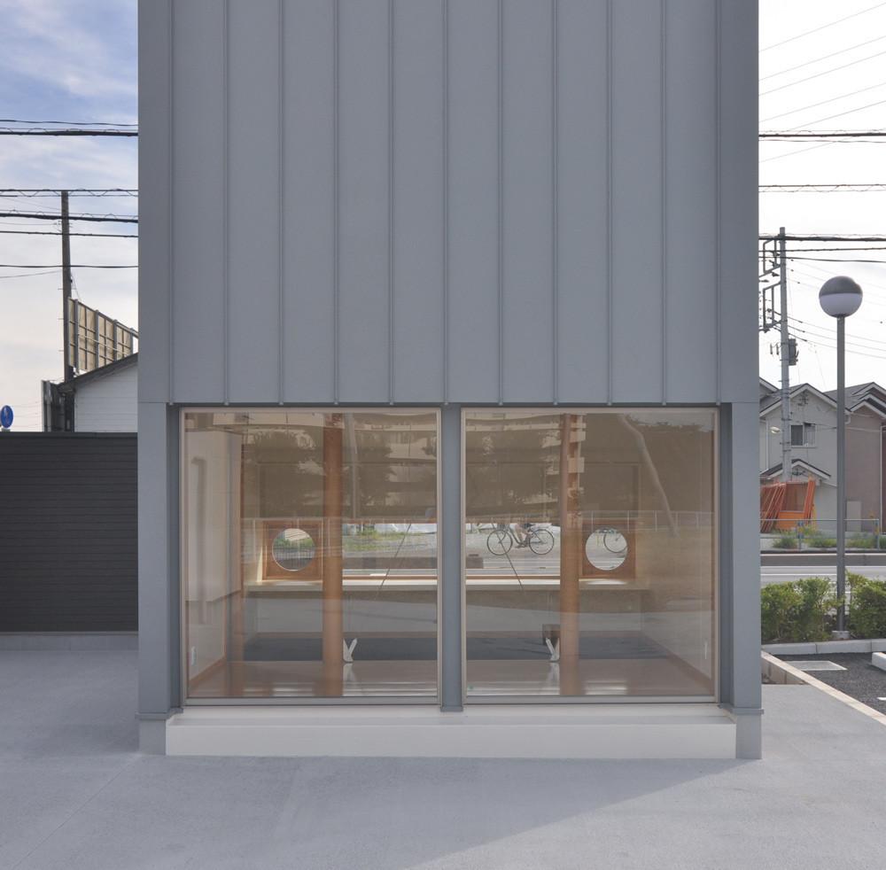 4坪(8畳)コテージハウス タイプA(片流れ屋根:土間)の建築事例写真
