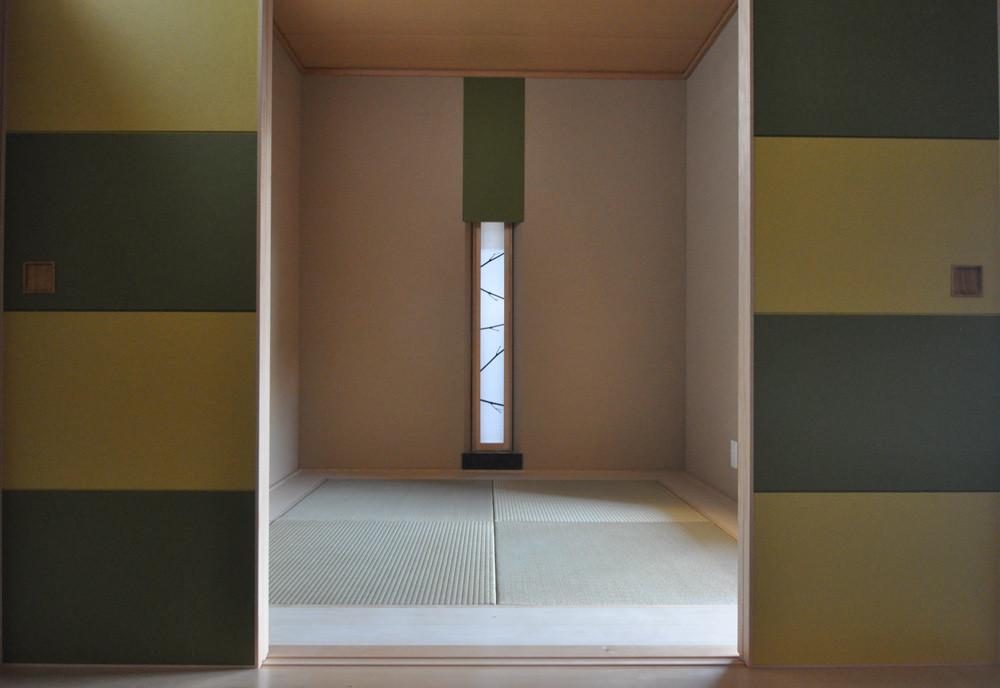 4坪(8畳)コテージハウス タイプC(和室&土間)の建築事例写真