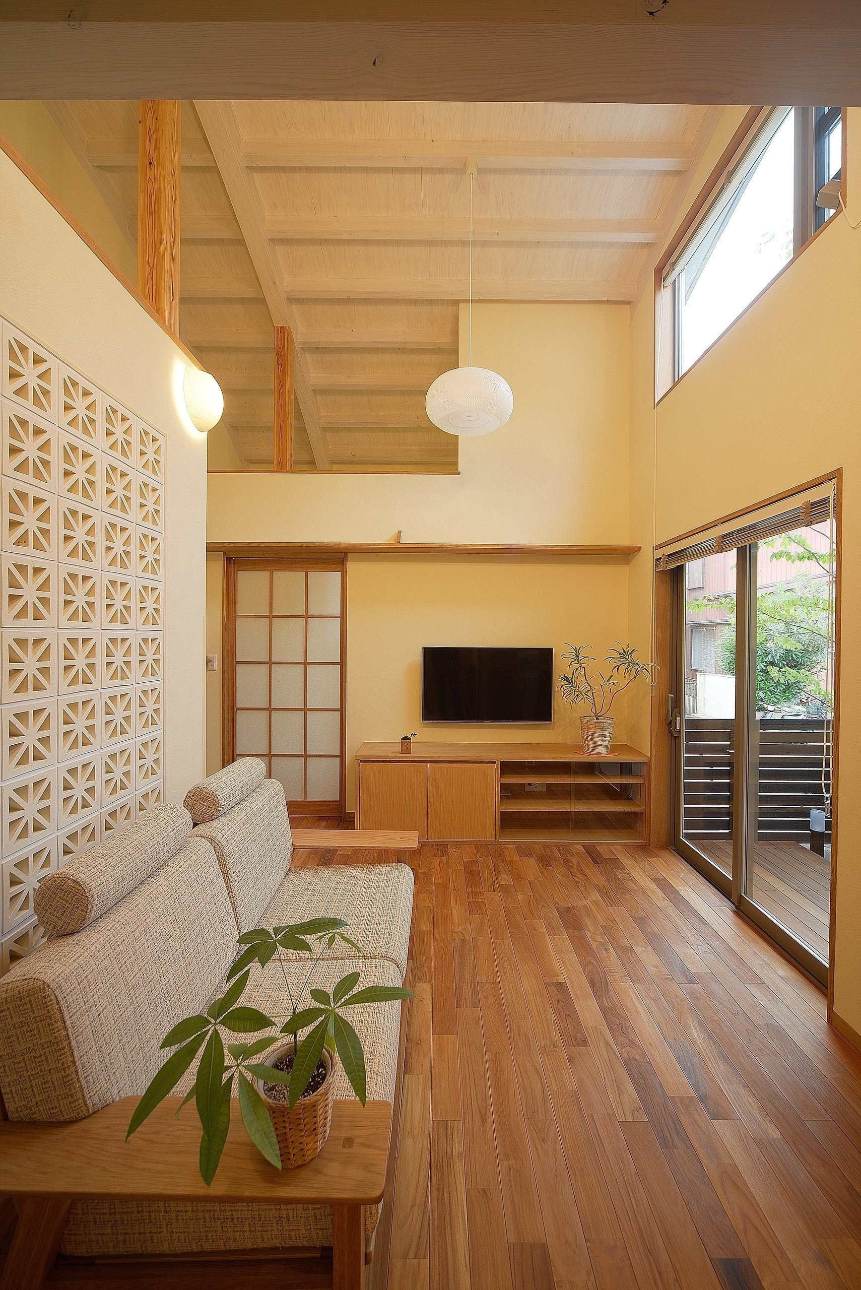 古和釜の家・自然素材で心地よく、パッシブ設計によるエコな住宅の建築事例写真