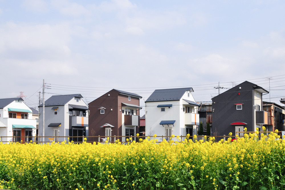 一戸建て賃貸住宅 (2LDK)× 5棟の建築事例写真