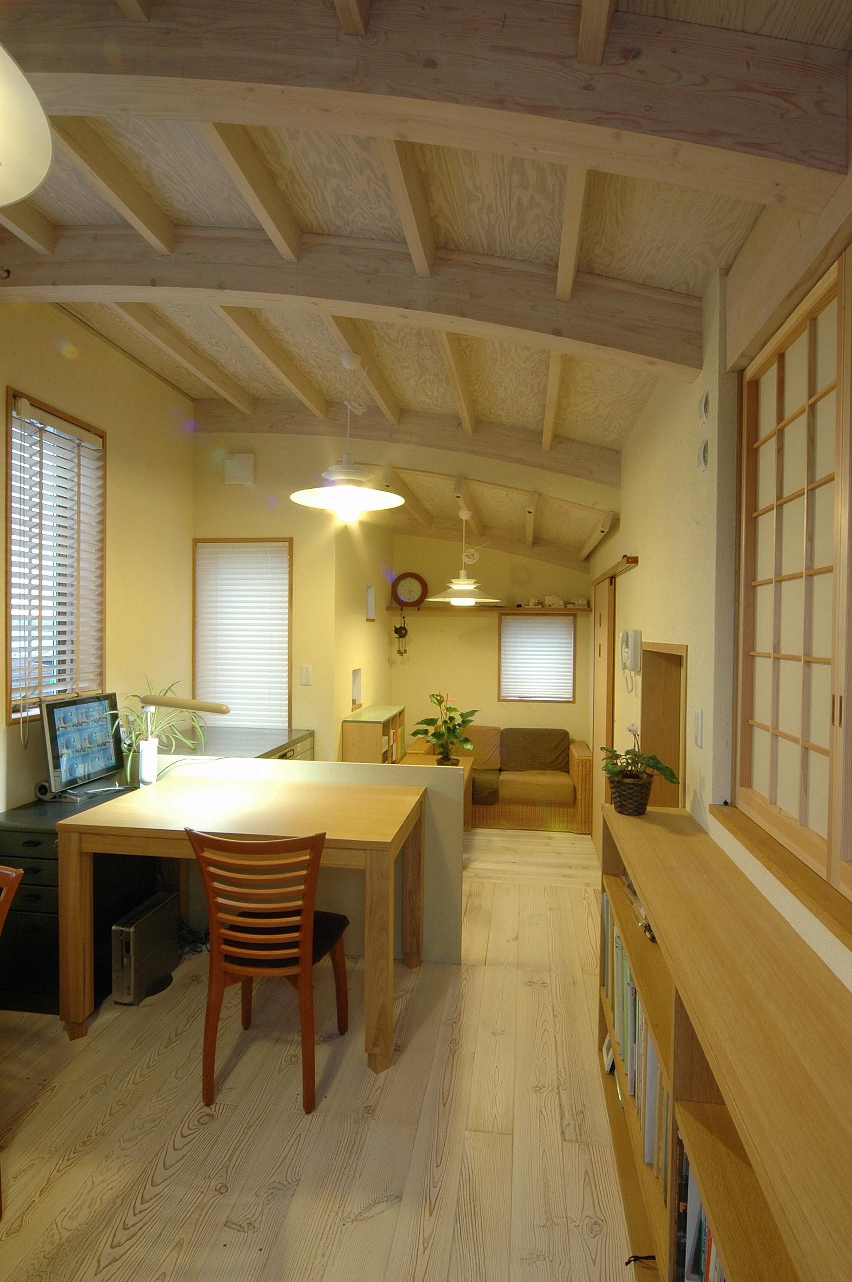 松が丘の家・2世帯+仕事部屋のある住まいの建築事例写真
