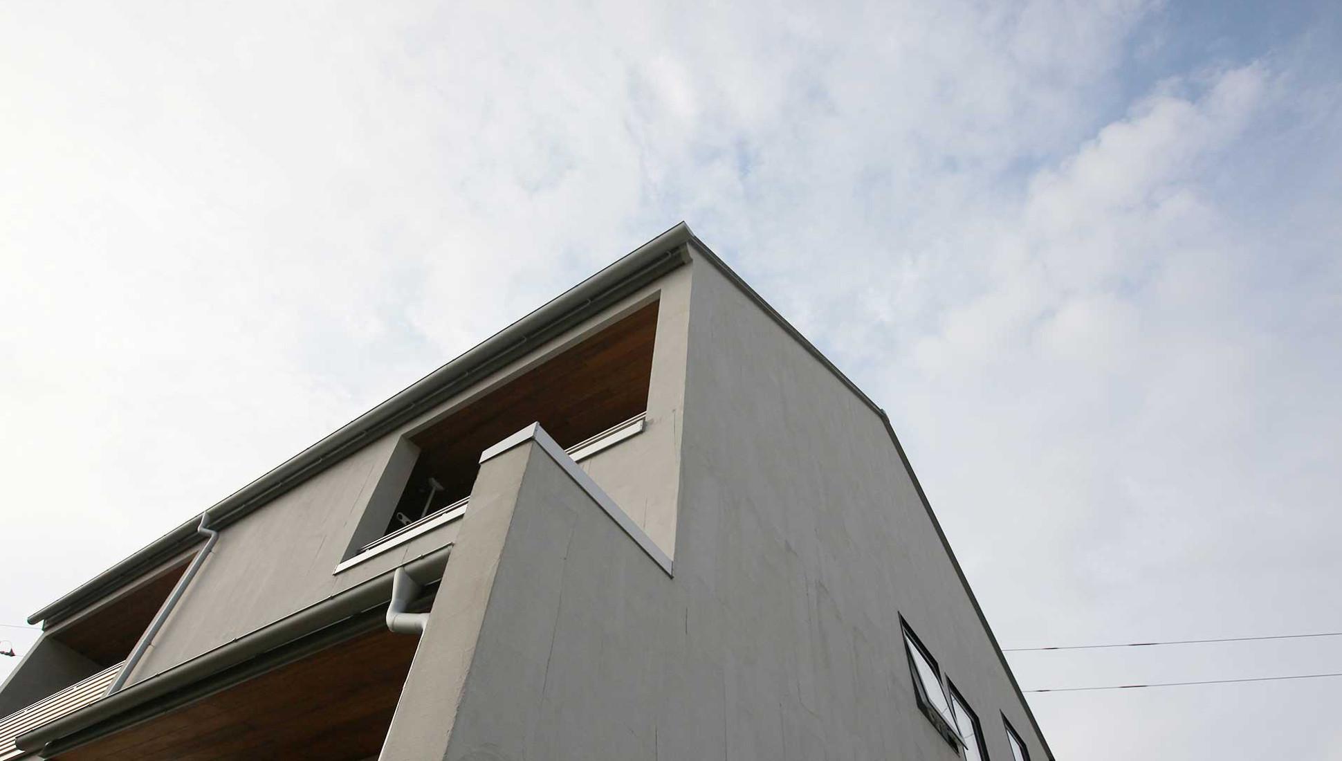 木更津へ移住だからできた!高断熱・免震重視『南北の余白の家』の建築事例写真
