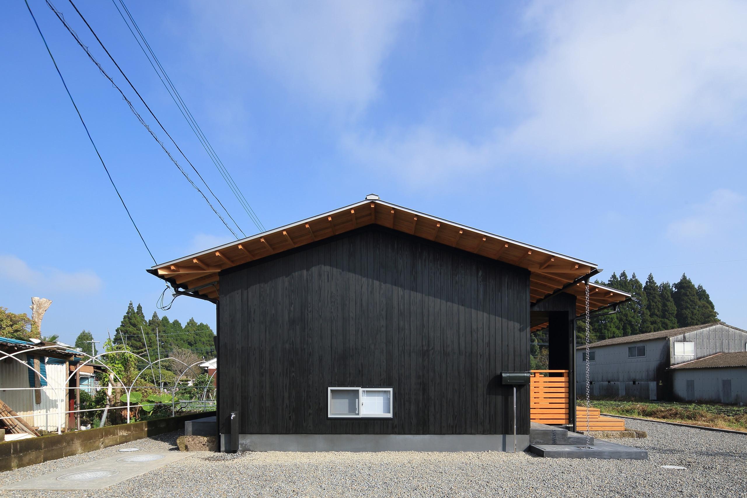 西側外観 | 平塚町の家~20坪の豊かな暮らし~