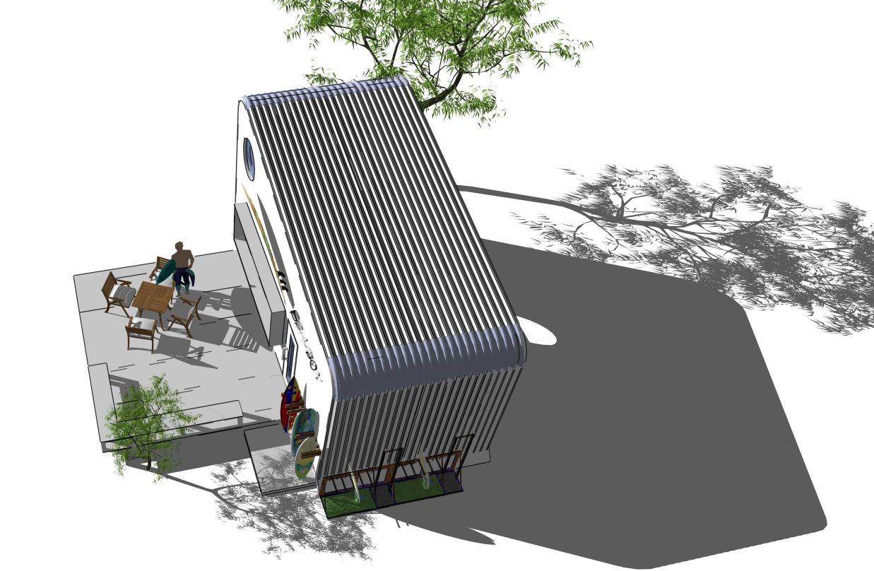 SEA-BOX CABINの建築事例写真