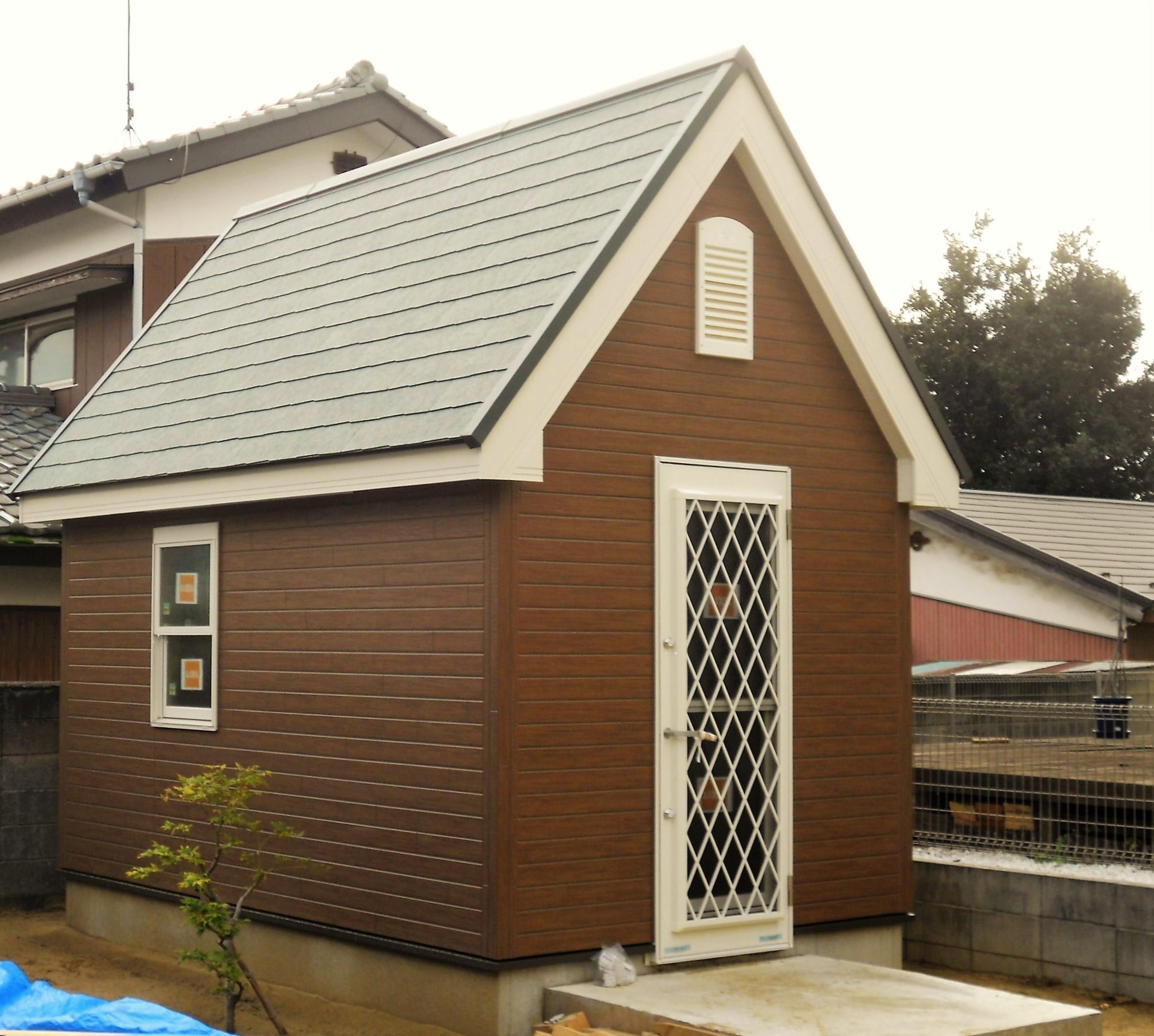 多目的に使える小屋の建築事例写真