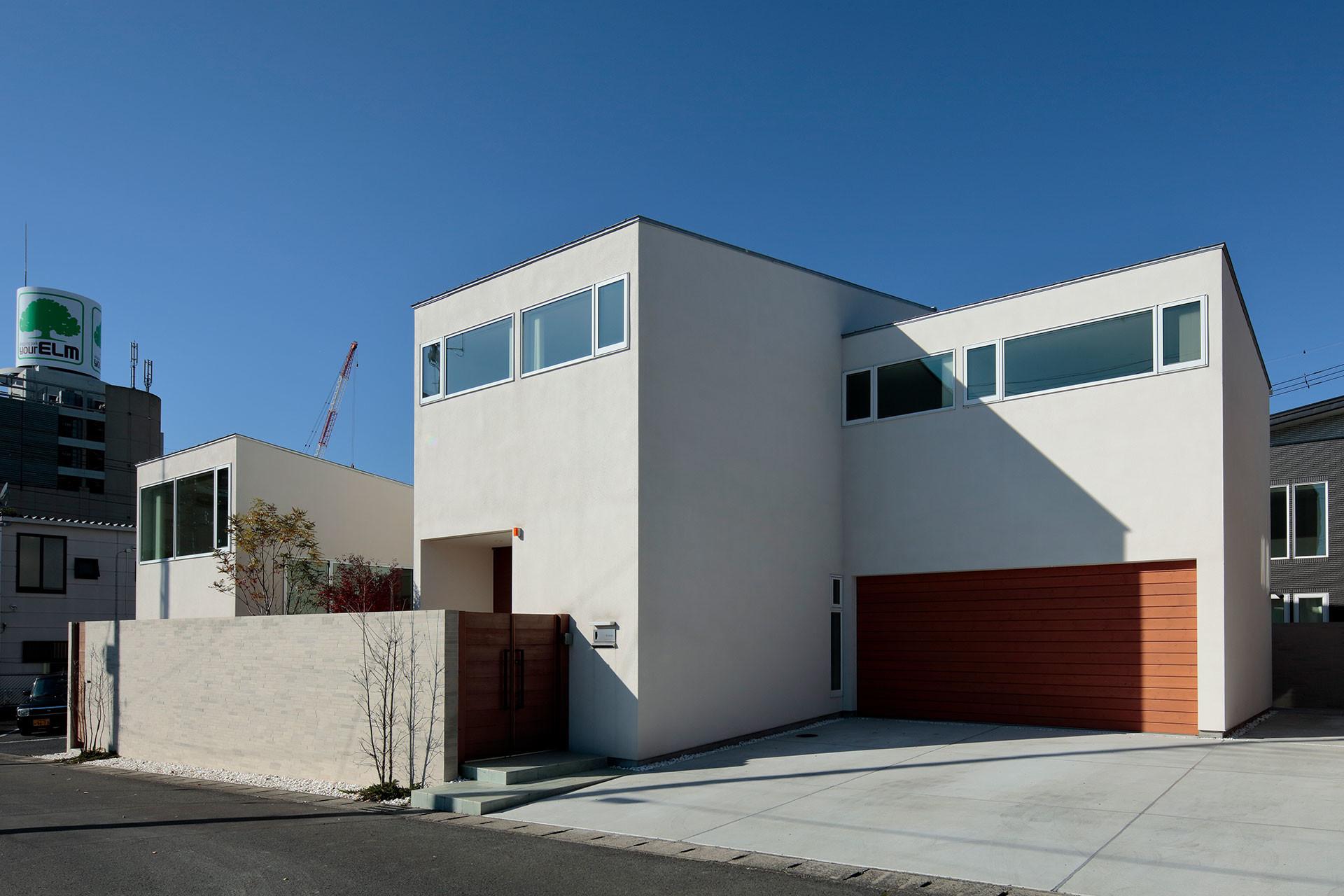 分節と連続の家の建築事例写真