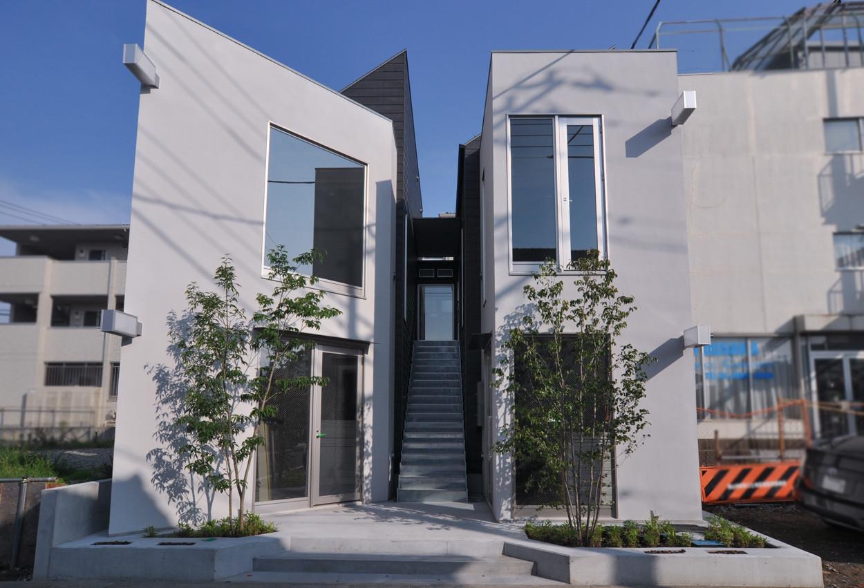 木造2階建てテナントハウス 【祇園スクエア】の建築事例写真