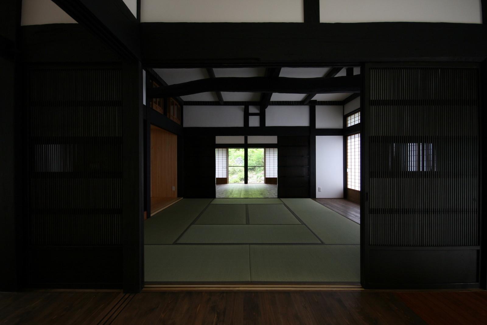 古民家の耐震補強 田野口の家の建築事例写真
