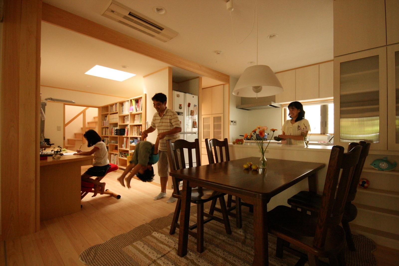 増築しながら改造 茶町の家の建築事例写真