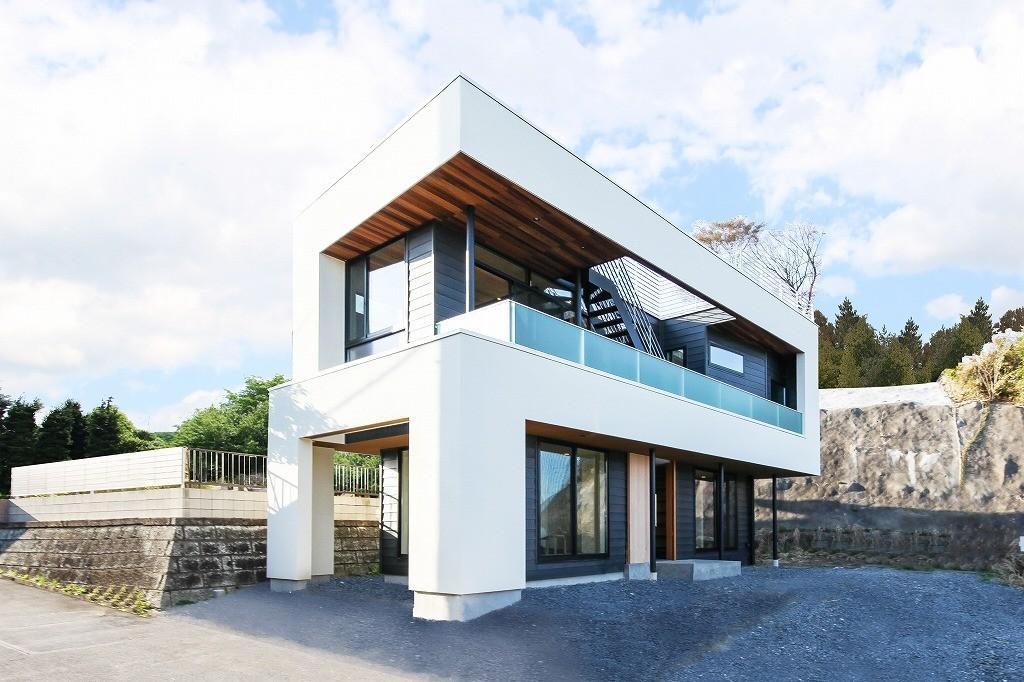展望台の家の建築事例写真