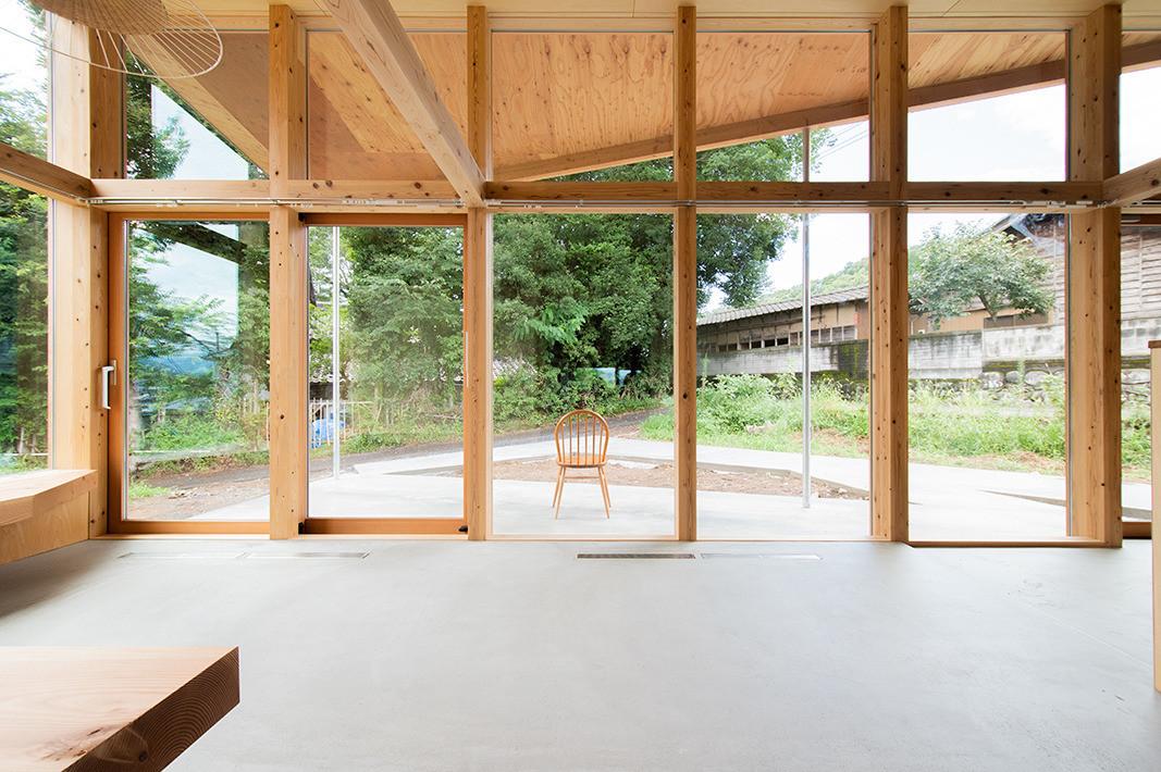 KIRIOHOUSE 夫婦のためのおおらかな繋がりを感じる家の建築事例写真