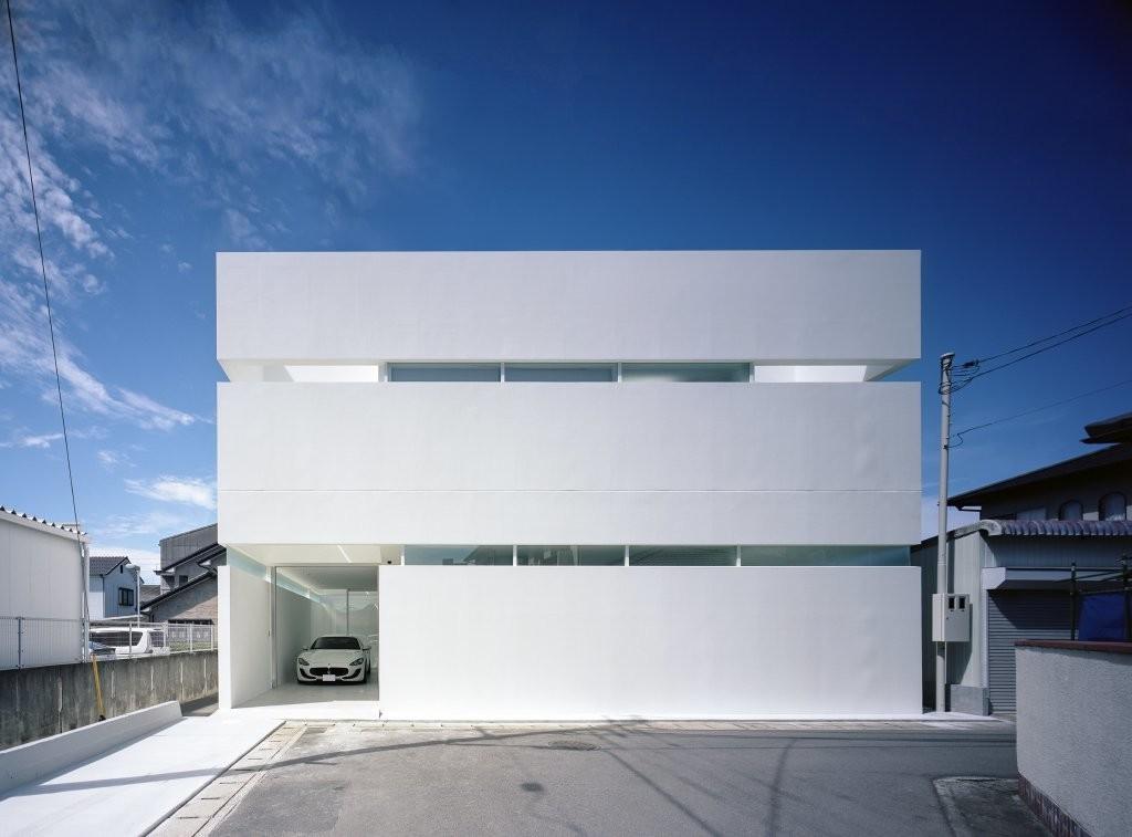 高松のガレージハウスの建築事例写真