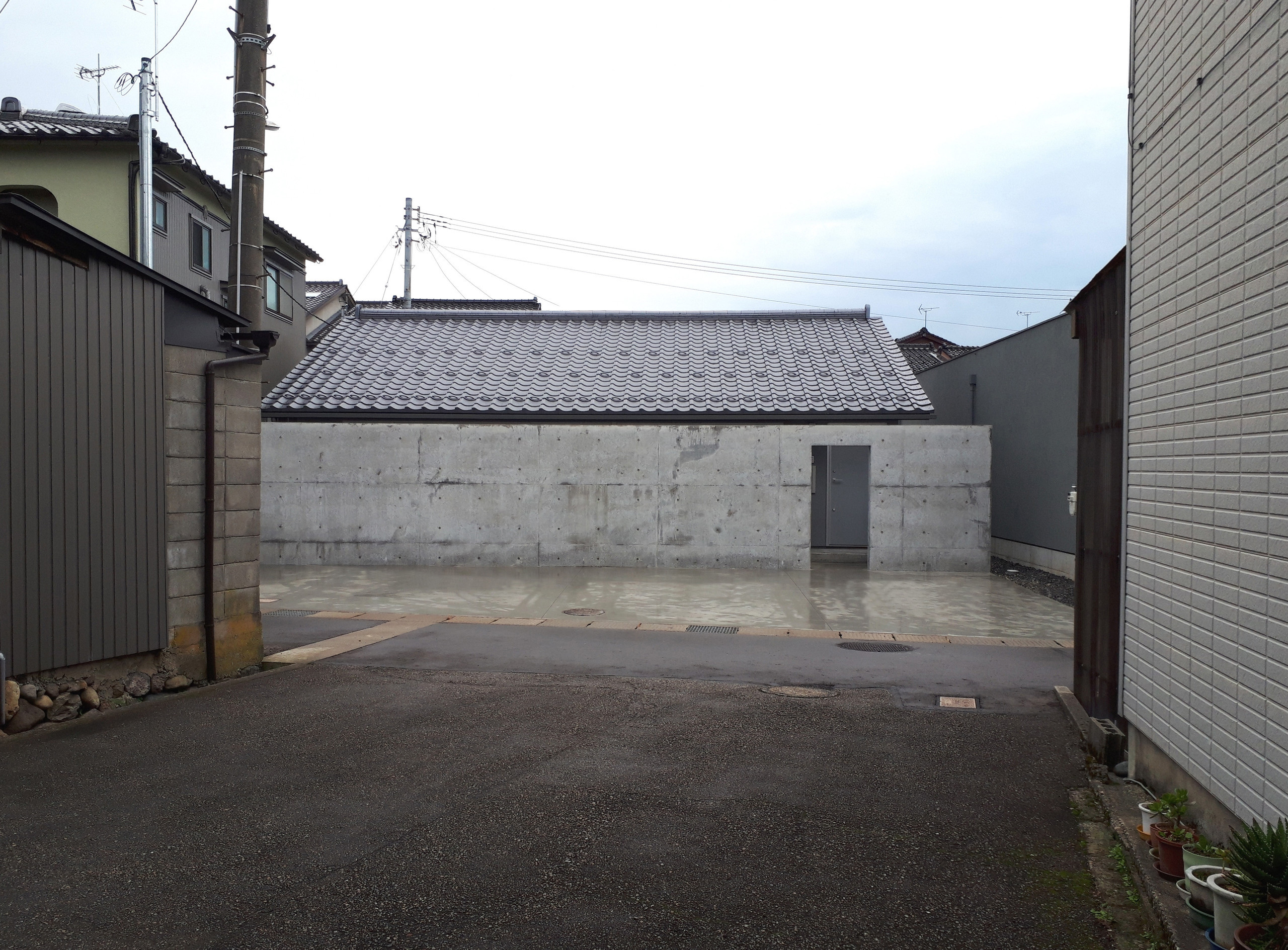 瓦の家の建築事例写真