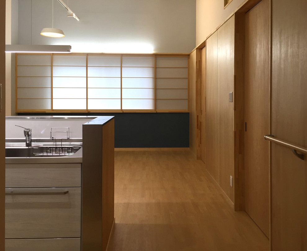 働いていたスタジオを終の棲家へバリアフリー・リノべーションの建築事例写真