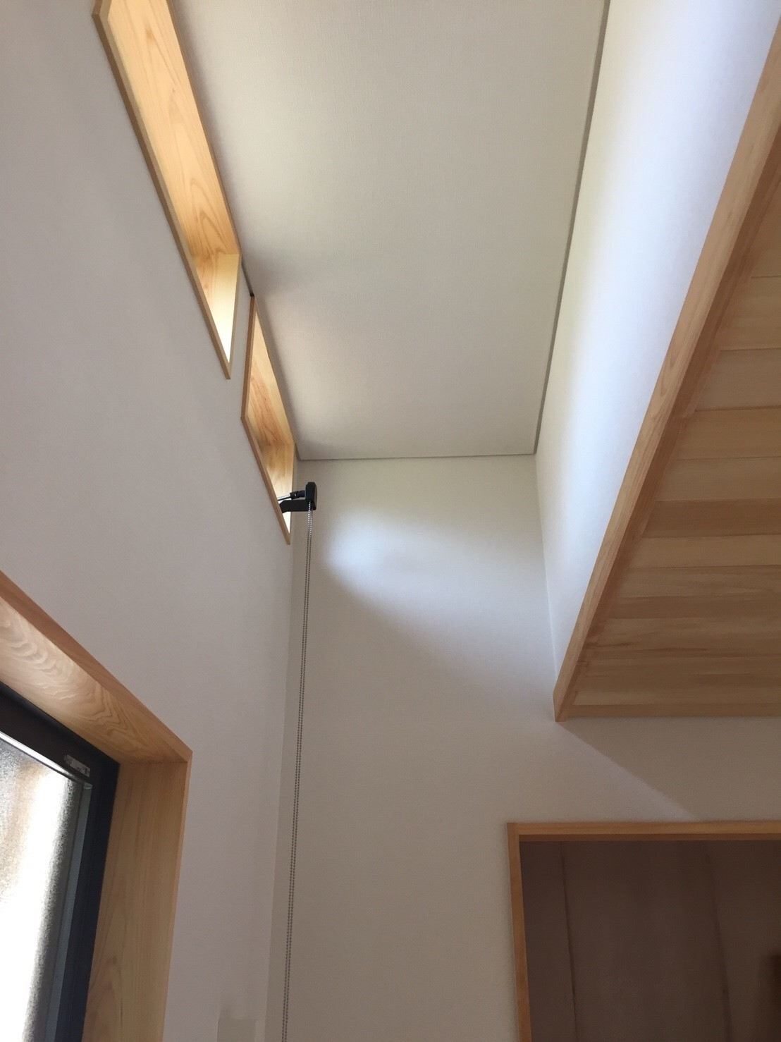 光がふりそそぐ平屋の終の棲家の建築事例写真