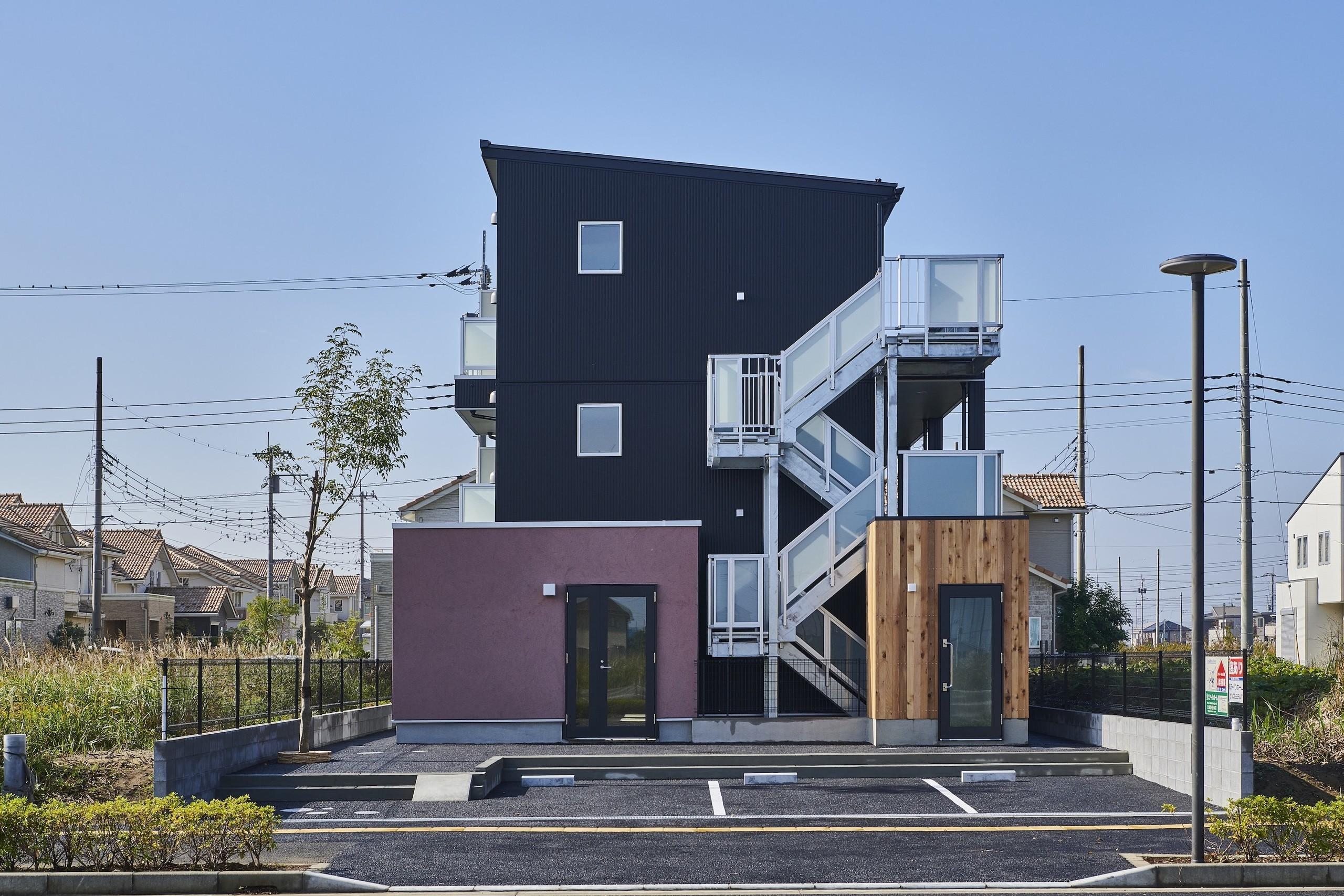 Sodegaura apartmentの建築事例写真