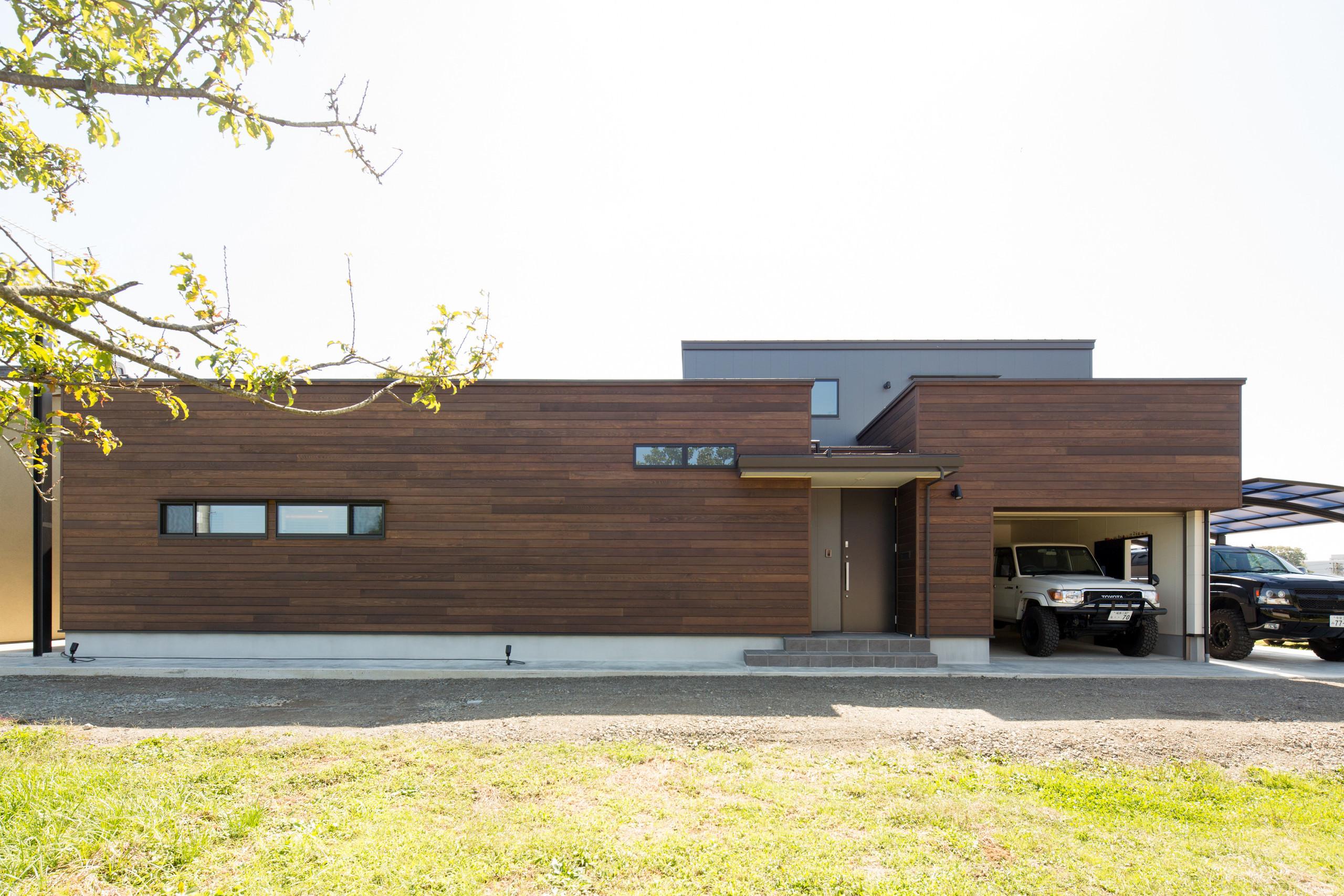 鏡石の家の建築事例写真