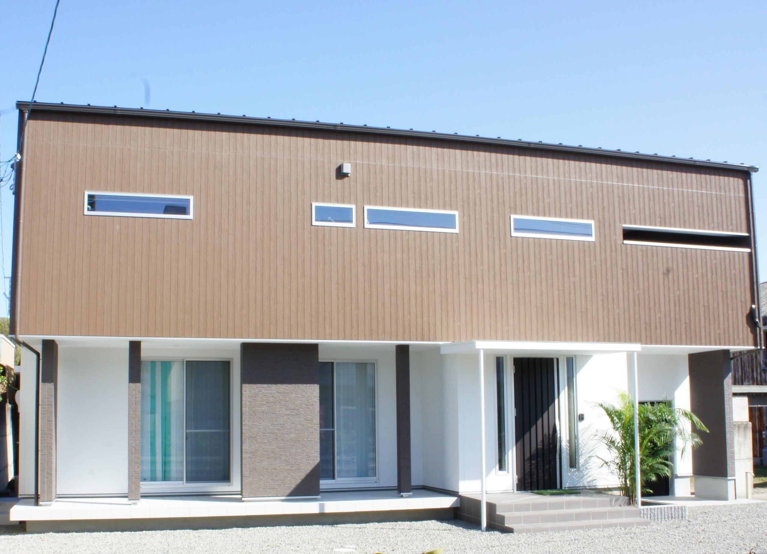 モダン&リゾート風の、趣味を楽しむ家の建築事例写真