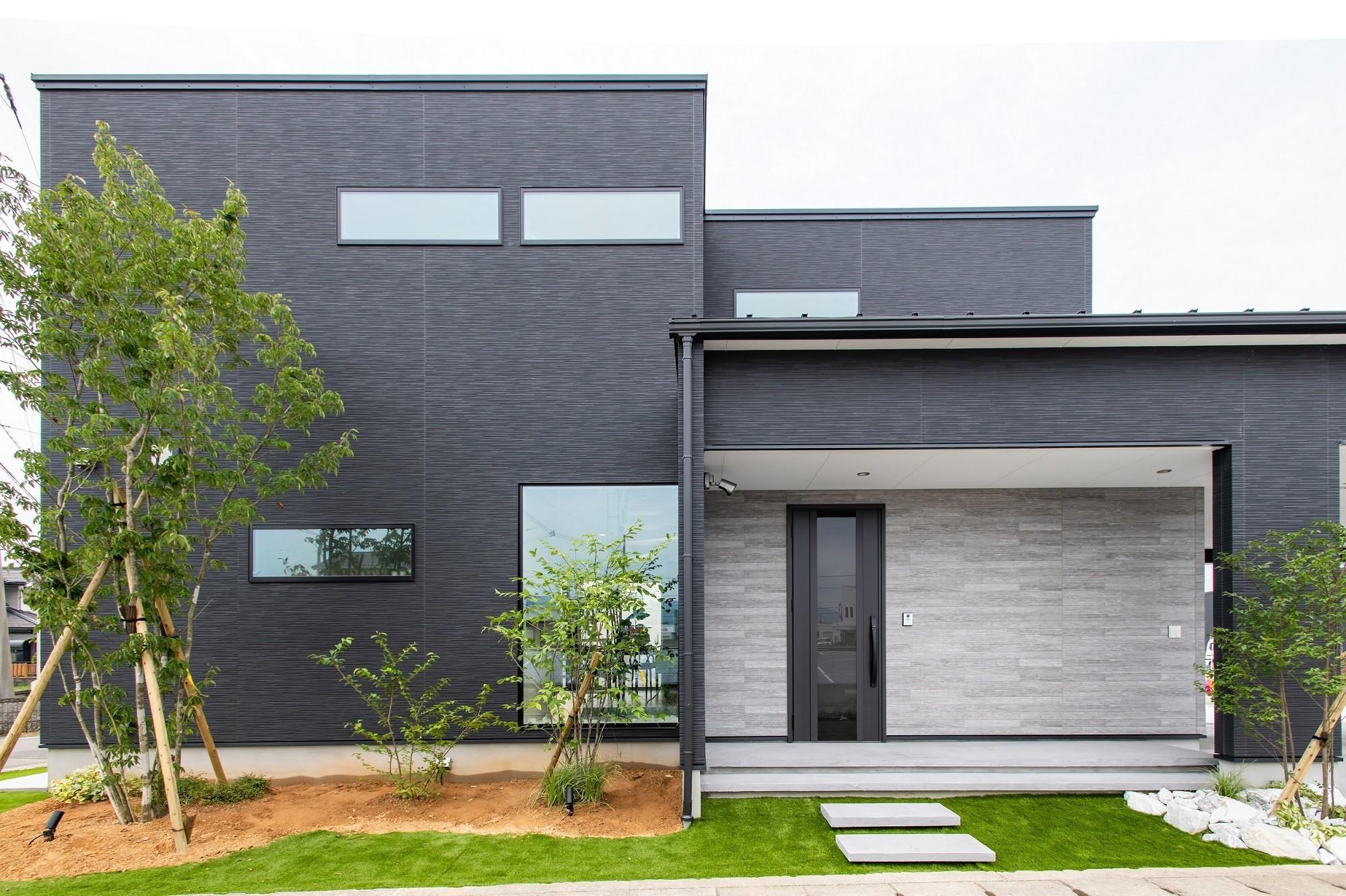 災害時に電気が使える ハイセンスなLCCM認定エコ住宅の建築事例写真