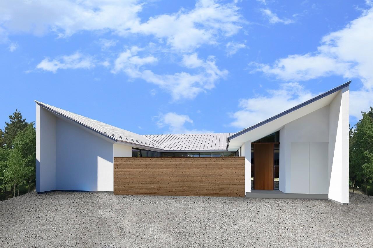 襷の家の建築事例写真