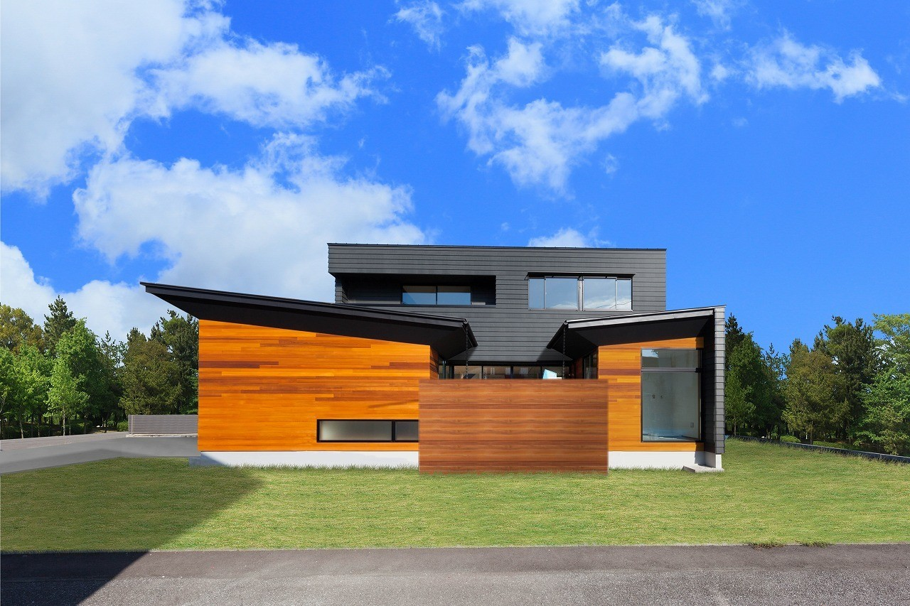 光と影の家の建築事例写真